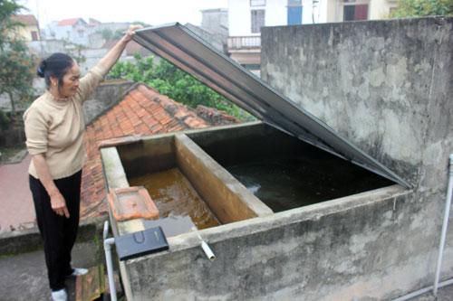 Bể lọc nước giếng khoan đơn giản