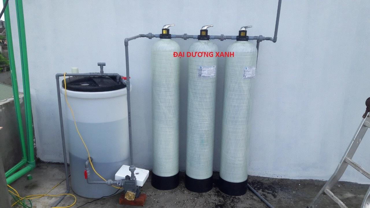 Bộ lọc và xử lý nước giếng khoan cth c3 250