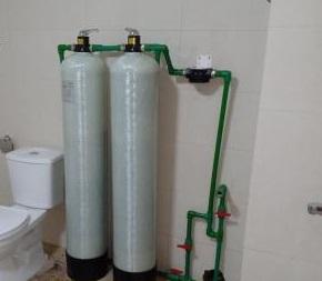 Xử lý nước đầu nguồn chung cư CTH 1054B