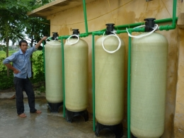 Thiết bị xử lý nước có độ cứng cao, áp dụng cho lò hơi