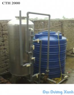 Lọc nước giếng khoan công nghiệp CTH 2500