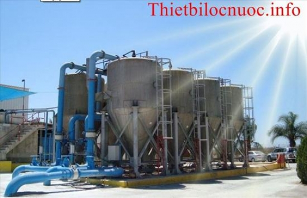 Cải tạo, nâng công suất hệ thống xử lý nước thải