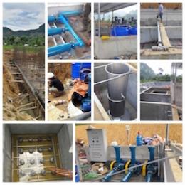 Hệ thống xử lý nước thải chế biến cà phê
