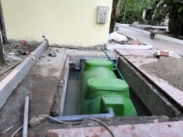 Xử lý nước thải trạm y tế phường