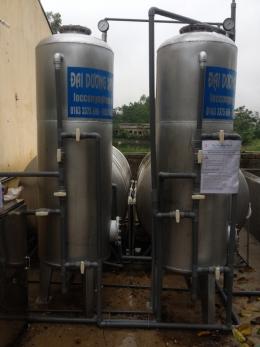 Thiết bị lọc nước giếng khoan chuyên dụng công suất 7 - 10m3h