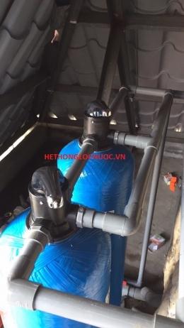 Hệ thống lọc và xử lý nước giếng khoan công nghiệp công suất 300m3