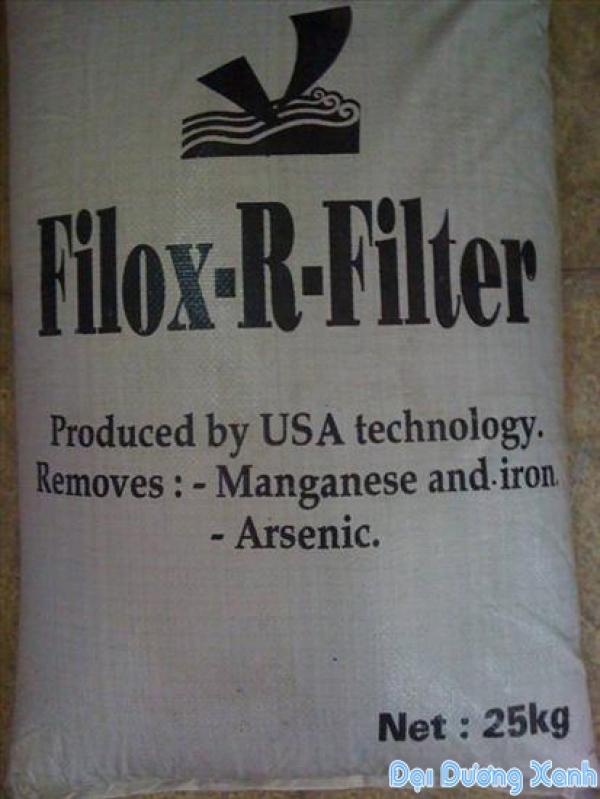 Hạt filox - lọc nước giếng khoan gia đình, công nghiệp