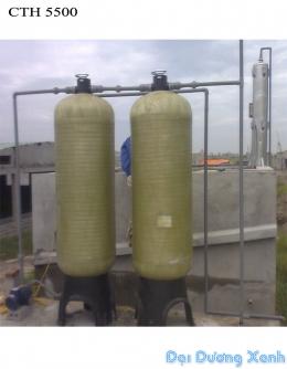 Thiết bị lọc nước giếng khoan công nghiệp công suất 5500 l/h