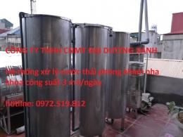Lắp đặt hệ thống xử lý nước thải nha khoa 2 - 20 ghế Hà Nội