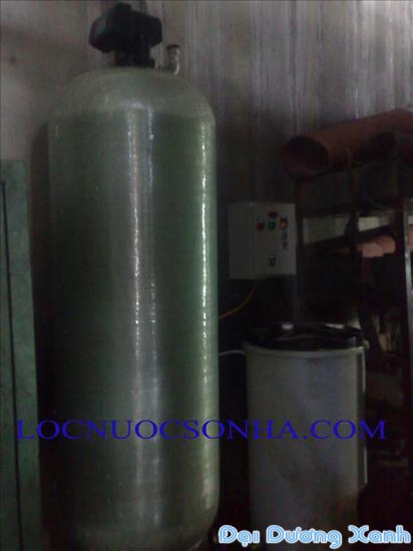 Làm mềm nước công nghiệp CTT 3000